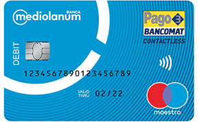 Carta di debito Mediolanum Card (Selfy)