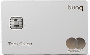 Carta prepagata bunq Green Card