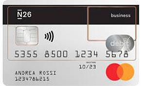 Carta di debito N26 Business
