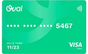 Carta conto Oval Pay